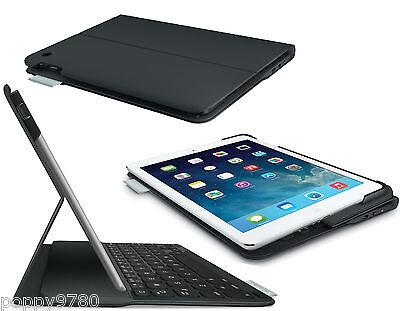 Logitech Wireless Ultrathin Keyboard Folio Case for iPad Air Carbon Black - Bulk