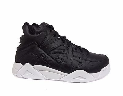 FILA Big Kids' OSTRICH CAGE Grade School Shoes Black/White 3VB90163-013 - Kids Cage