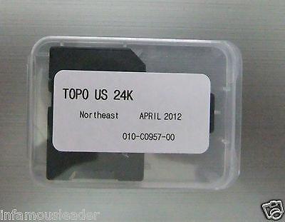Garmin TOPO U S  24K Northeast maps micro sd card | Wundr-Shop