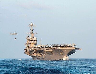 METAL REFRIGERATOR MAGNET USS John C. Stennis Aircraft Carrier Navy USA Military