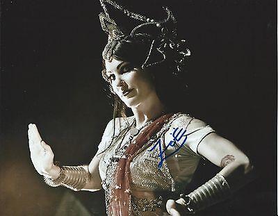 Zoe Jakes Beats Antique Hand Signed 8x10 Photo Autographed COA 01