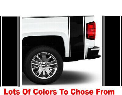 Dodge Ram 1500 2500 350 Hemi Rear Truck Bed Decal Racing Vinyl Stripes Sticker22