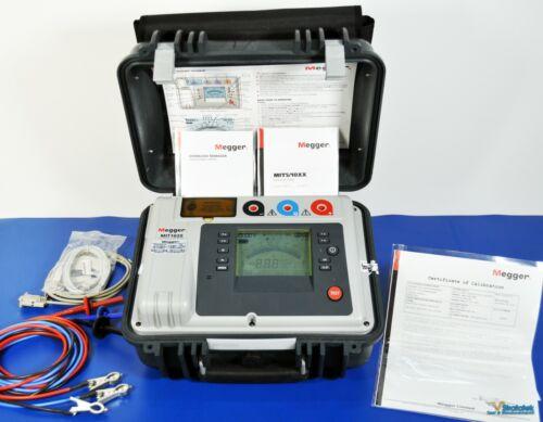 Megger MIT1020 10kV Insulation Tester Megger Calibration with Data Megohmmeter