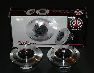 Pair of DB Drive P5TW8D 1″ Voice Coil Aluminum Diaphragm Tweeters 350 Watts each