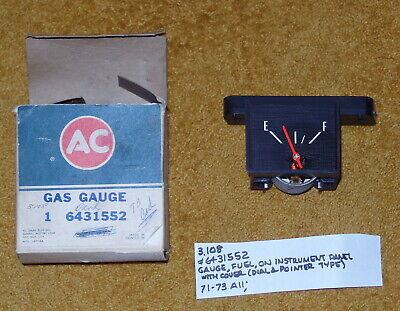 1971-73 Cadillac Fuel Gauge NOS 6431552