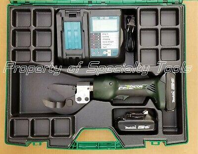 Greenlee Gator Es32fl Battery Hydraulic Wire Cutter Cable Cutting Es32l Tool