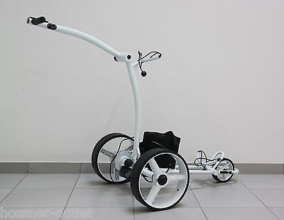 Elektro Golftrolley HGT-SP X2 Pro I, WHITE-LINE , 350 Watt,