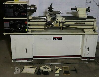 Jet Ghb1340a Gear Head Bench Lathe 230v 13in Swing 40in Centers Cbs-1340a Stand