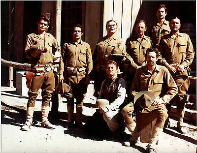 THE WILD BUNCH SUPERB CAST PHOTO FROM SAM PECKINPAH CLASSIC WILLIAM HOLDEN