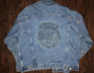 Tyca Always Coca Cola Vintage Jean Jacket, Men's L