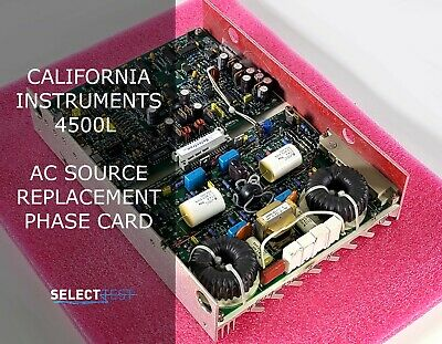 California Instruments 4500l Ac Source Replacement Phase Card Look Ref. G