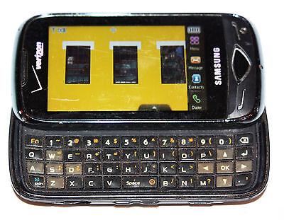 Samsung Reality SCH-U820 - Black Verizon Cell Slider Phone- Grade B -Clean ESN