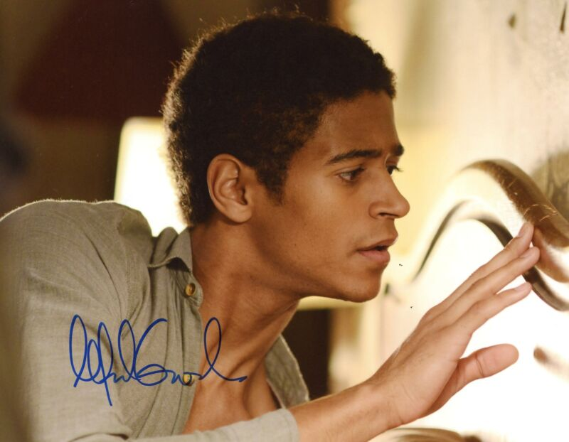 "Alfred Enoch ""How to Get Away with Murder"" AUTOGRAPH Signed 8x10 Photo ACOA"