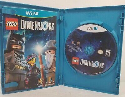 LEGO Dimensions (Nintendo Wii U, 2015) w Manual COMPLETE