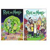 Rick and Morty: The Complete Series Season 1- 2  (4 disks DVD) NEW Season 1, 2