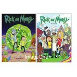 Rick and Morty: The Complete Series Season 1- 2  (4 disks DVD) NEW Season 1, 2