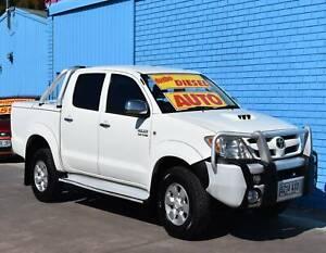 2008 Toyota Hilux KUN26R SR5 Utility Dual Cab 4dr Auto 4sp 4x4 3.