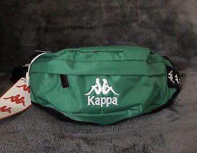 Kappa Green Anais Travel Sports Crossbody Sling Waistpack Bag Hip Fanny Pack