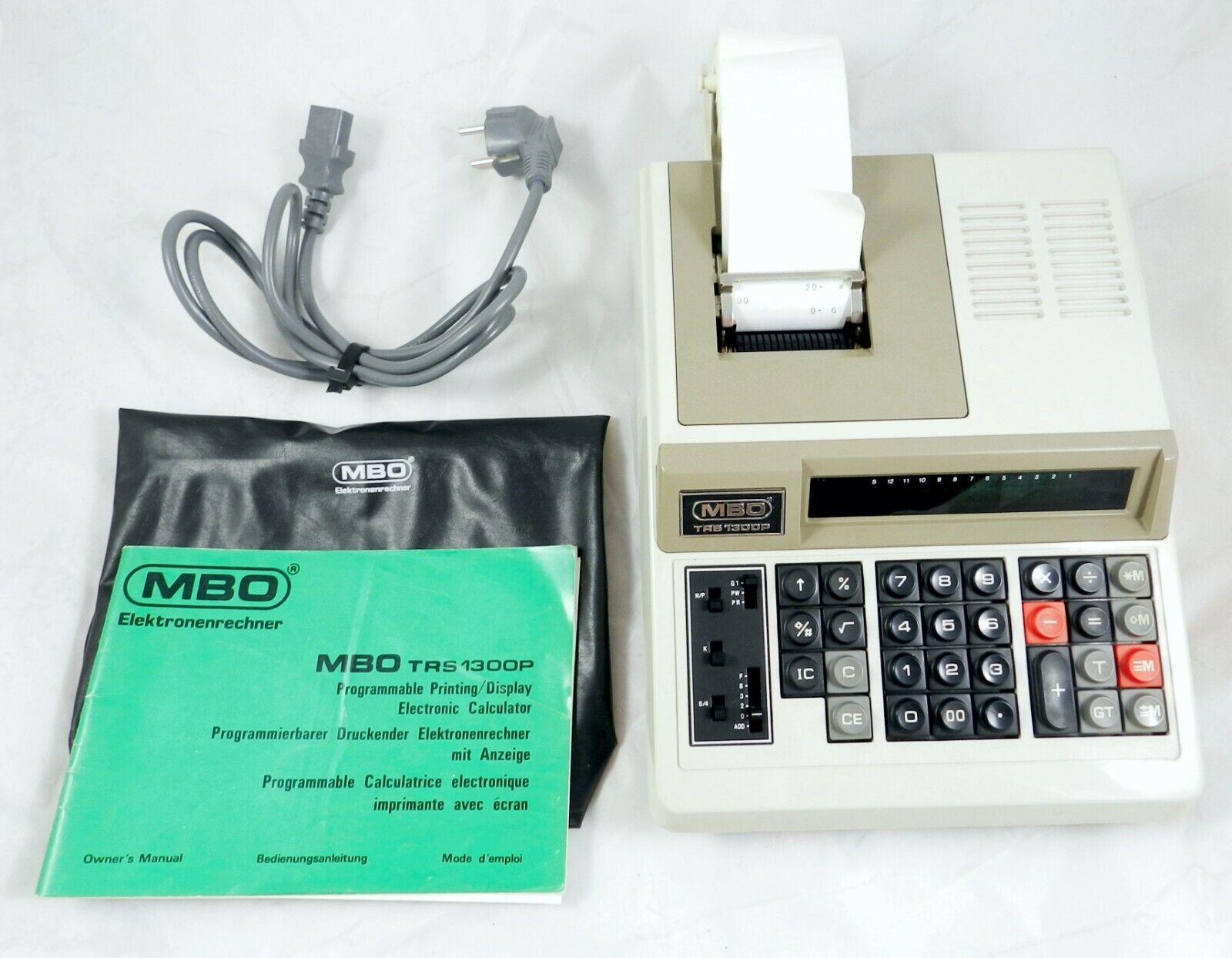 MBO Tischrechner TRS 1300P programmierbarer druckender Elektronenrechner