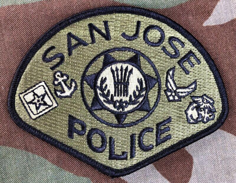 San Jose Police CA 2021 Veterans Collector