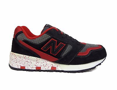 New Balance Men's Halloween Elite Edition Running Shoes Black/Red MD575ERB a2 - Halloween Running Man