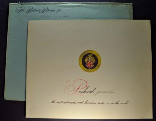 1951 Packard Patrician 400 Prestige Brochure + Envelope Excellent Original 51