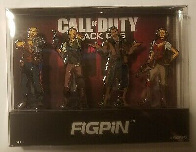 Call of Duty Black Ops 4 mystery box w/ popsocket puzzle figpin comic patches