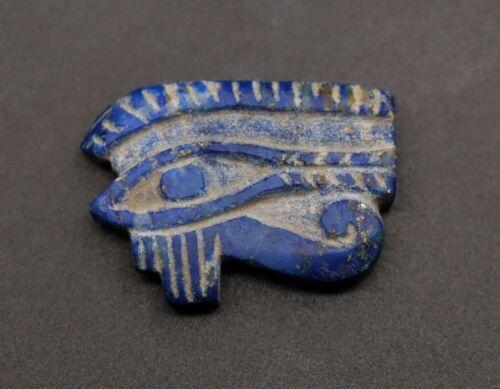 RARE EGYPT EGYPTIAN ANTIQUE Eye of HORUS Goddess LAPIS LAZULI STONE 4400 BC