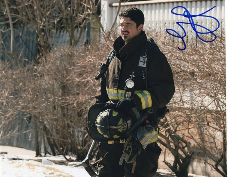 Yuri Sardarov signed 8x10 Photo w/COA Chicago Med P.D. Brian Svonecek
