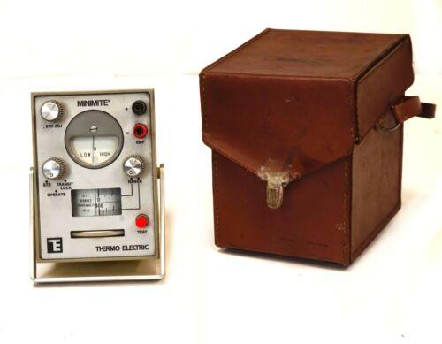 Thermo Electric MINIMITE 31101 null balance circuit millivoltmeter calibrator