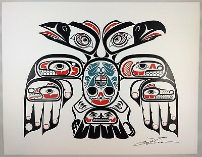 Connections Lon French Signed Print Haida Northwest Coast Native Art for sale  Surrey