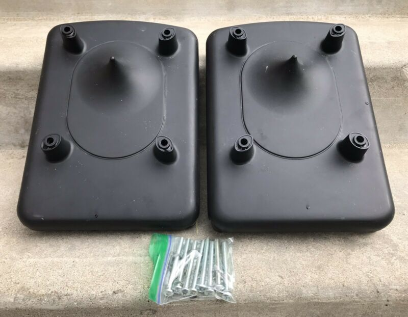 Pair (2) POLK RT 1000i Speaker Bases Feet BASE