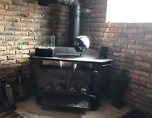 Wood (stove) fire place
