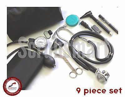 Beginner Nurse Student Starter Kit - Stethoscope Bp Otoscope Scissor More Nk-01