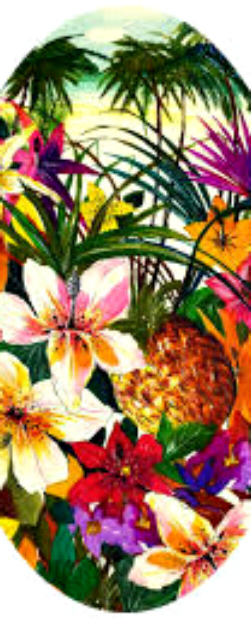 20   water slide nail decals Diy tropical floral 4 sizes per