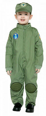 Air Force Toddler Military Pilot Uniform Costume Size - Air Force Costume