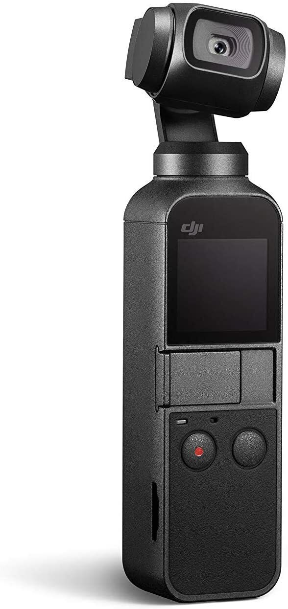 DJI Osmo Pocket - Handheld 3-Axis Gimbal Stabilizer with int