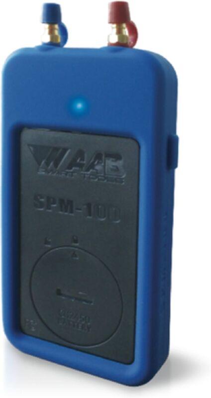 NEW!!! AAB SPM-100 Smartphone Dual Port Manometer / Static Pressure Meter