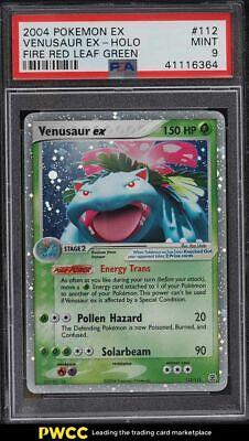 2004 Pokemon EX Fire Red Leaf Green Holo Venusaur #112 PSA 9 MINT