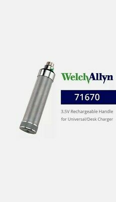 Welch Allyn 71670 Rechargeable Nicad Handle For Deskwell Chargers
