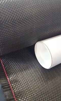 Carbon Fiber Fabric 3k 5.7oz. X 50 In Plain Weave - 5 Yard Roll