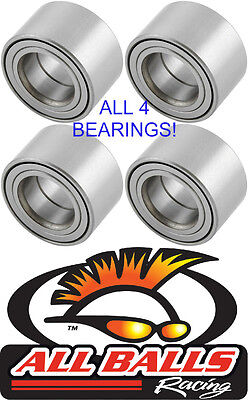 Yamaha Grizzly Front  Rear Wheel Bearings all 4 2003 2012 550 660 700 models