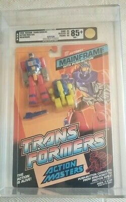 Transformers Action Masters Mainframe (Hasbro 1990) AFA 85 85/90/90