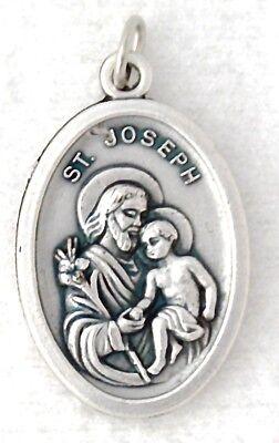 ST JOSEPH Catholic Saint Medal charm patrons families fathers happy death NEW (Joseph Patron Saint Medal)