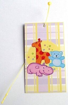 100 Clothing Tags Accessories Tags Baby Blanket Price Tags 100 Self-lock Loops