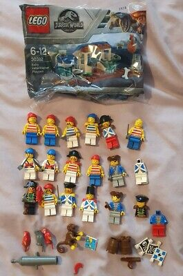 Vintage Lego Pirates & Accessories Minifigures Job Lot Soldiers