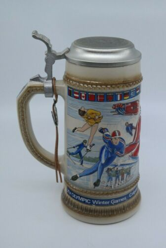 1988 Olympic Winter Games - Anheuser-Busch Beer Stein