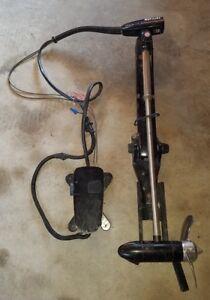MERCURY Thruster PLUS Bow Mount Trolling Motor, Foot Control Pedal NEW ALUM PROP