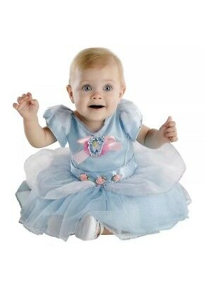 Cinderella Costume Baby Disney Princess Halloween Fancy Dress 12-18 Months ()