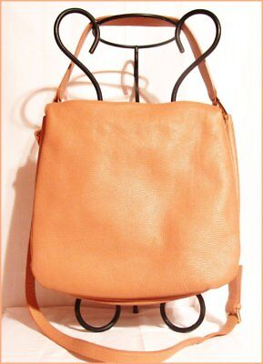 STUNNING INNUE ITALIAN LEATHER CONVERTIBLE CROSSBODY PURSE-MADE IN ITALY